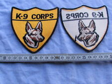PATCH POLICE US POLICEMAN US 1960'S 1970'S K-9 CORPS