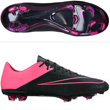 Nike Mercurial Vapor X Tech Craft Leather FG Soccer Cleats Boots Size 8.5 Pink