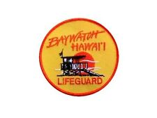 Alerte à Malibu Hawaii Ecusson des sauveteurs Baywatch rescue patch