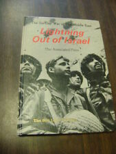 1967 LIGHTNING OUT OF ISRAEL THE SIX-DAY WAR IN THE MIDDLE EAST GREAT BOOK! LOOK