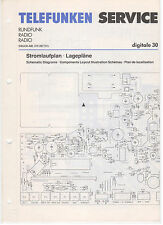 Service Manual Telefunken Rundfunk Radio Digitale 30 (127)