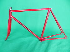 Makino Red  NJS Keirin Frame Frameset Pista Track Bike Fixed Gear Kaisei 8630R