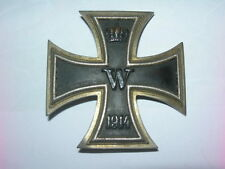 German Iron Cross 1 nd Class WW1 1914 -1918. Original 100 %  .