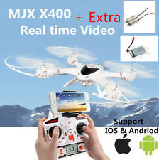 MJX X400 6-axis Gyro Roll Quadcopter Drone RC Helicopter&C4005 WiFi FPV Camera