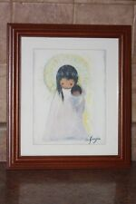 GOEBEL W.GERMANY DE GRAZIA YOUNG MADONNA COLLECTIBLE PICTURE