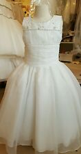 Christie Helene First Communion Dress Style  UF048 Size 8 MSRP $290