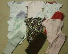 Baby Girl Size 3-6 Months Mixed Spring or Fall Clothing Lot