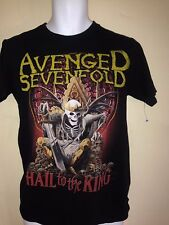 AVENGED SEVEN FOLD HAIL TO THE KING 2013 MED t shirt ROCK METAL  OUT OF PRINT