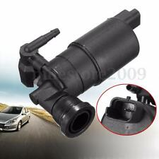 2 Pin Windshield Window Water Outlet Washer Pump For 643475 Peugeot 307 607 608