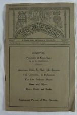 The Gownsman. II. No.33. 1911. A weekly record .. University Life. Cambrigde.
