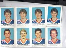 1984-85 Red Rooster Edmonton Oilers Safety Set  NRMT 4 Gretzky cards (30)