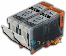 2 Black Ink Cartridge for Canon Pixma MX850 PGI-5Bk