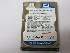 """Western Digital 250GB 5400RPM 2.5"""" SATA Laptop Hard Drive WD2500BEVT Dell 80PK5"""