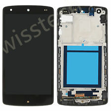 LCD Screen display+Touch Digitizer ASSEMBLY  For LG GOOGLE NEXUS 5 D820 +Frame