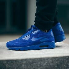 "NIKE AIR MAX 90 ULTRA BR ""RACER BLUE"" #725222 402 / MEN'S TRAINERS / UK 9.5"