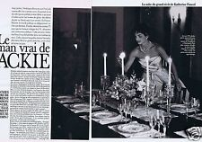 Coupure de presse Clipping 1994 Le Roman vrai de Jackie Kennedy (4 pages)