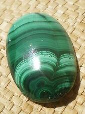 Cabochon Parfait de Malachite Design 39 cts !! Nigeria