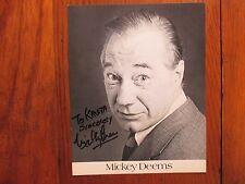 """MICKEY DEEMS(Died-2014)""""St. Valentine's Day Massacre"""")Signed 8 X 10 B & W Photo"""