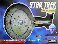 "STAR TREK ""ALL GOOD THINGS"" FUTURE ENTERPRISE 1701 D ELECTRONIC STARSHIP DIAMOND"