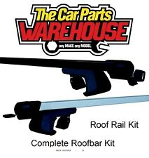 Full Roof Rack Bar Kit SUM520 Mountney WITH RAILS ~ DACIADUSTER10-13