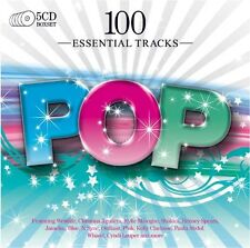 Various Artists - 100 Essential Pop / Various [New CD] UK - Import