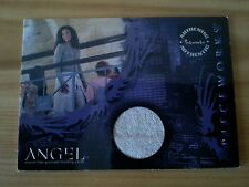 ANGEL PW4 PIECEWORKS SWATCH WORN COSTUME TRADING CARD JASMINE'S PANTS