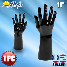 Male black Mannequin Hand Display Jewelry Bracelet ring glove Stand holder