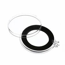 Air-Tite Brand Y45mm Black Ring Coin Capsule Holders Qty: 1