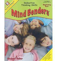 Mind Benders Level 1 : Deductive Thinking Skills by Michael Baker (2013,...