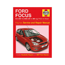 Ford Focus 1.4 1.6 1.8 2.0 Petrol 1.8 TDDI Ci 2001-05 (51-05 Reg) Haynes Manual