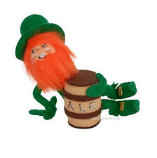 "St Patrick's Day GOOD FOR WHAT ALES YOU ELF 5"" IRISH beer Leprechaun Annalee NEW"
