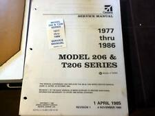 1977-1986 Cessna 206 and T206 Service Manual