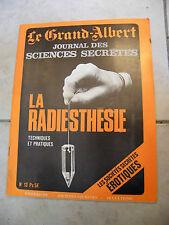 Le Grand Albert journal des Sciences Secrètes N°13
