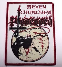 POSSESSED SEVEN CHURCHES  WOVEN  PATCH