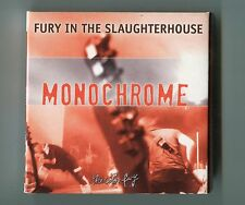 Fury in The Slaughterhouse 3-INCH CD + DVD Promo - MONOCHROME ©2002 Cardsleeve