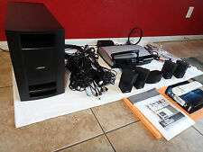 Bose Lifestyle 48 Series-lll 5.1 Home Theater 'Jewel' Speaker System *Wireless*