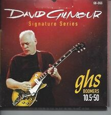 GHS DAVID GILMOUR SIGNATURE SERIES BOOMERS ELECTRIC GUITAR STRINGS 10.5-50 GB-DG