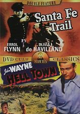 Double Feature: Santa Fe Trail/Hell Town (Slimline DVD, 2005) BRAND NEW DVD