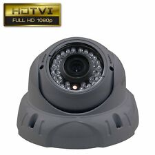 2.4MP 1080P Sony Sensor CCTV Security HD-TVI Dome Camera 2.8-12mm Lens Gray