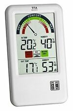 Hygrometer TFA Dostmann Thermo Hygrometer Wireless Funk Thermo Hygrometer