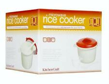 New Design Microwave Rice Cooker 1.5 Litre – Rice for 4 in just a few minutes BN