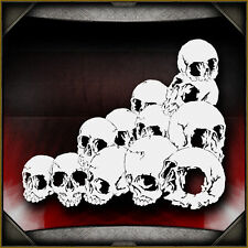 Skull Background 29 -  Airbrush Stencil Template Airsick