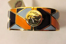 Spartina 449 Hinged Bracelet Bangle 812790 Bateau Bleu Pattern NWT R$45.00