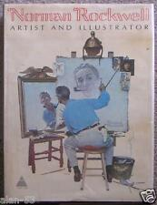 NORMAN ROCKWELL ~ ARTIST & ILLUSTRATOR ~ HUGE PROFUSELY ILLUS ~ TIPPED IN PLATES