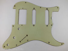 Aged MINT GREEN HSS SCRATCH PLATE Pickguard #1 for 1962 Fender Stratocaster