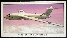 RAF   Handley Page Victor B2 Jet Bomber     Illustrated  Card  VGC