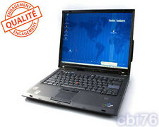 "Portable Lenovo T60 T2300 15"" 1952-CTO 1.66Ghz 1GO, 40GO, windows XP PRO"