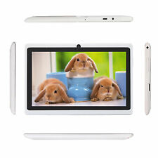 "NEW 7"" iRULU Android 4.4 HD Tablet PC A33 Quad Core Dual Camera 8GB White"