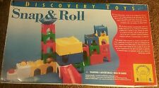 2001 Discovery Toys Snap & Roll ball marble track learning 100% complete