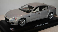 Whitebox 205619 Maserati Quattroporte Silver 1/43rd Scale Model In Case T48 Post